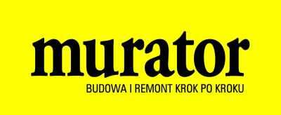 Logo czasopisma wydawanego co miesiąc - Murator