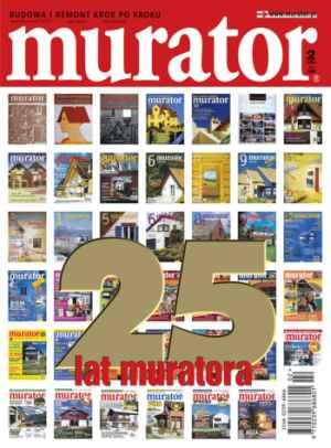 Okładka muratora z okazji 25-lecia czasopisma