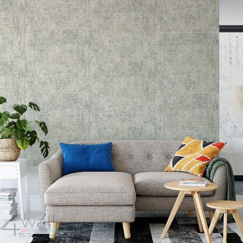 Ścienne dekoracje w stylu loftowym - tapeta ścienna