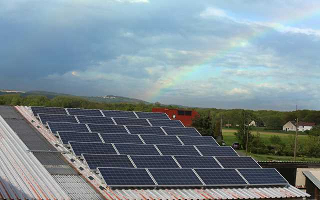 Ogniwa fotowoltaiczne - solary w domu jednorodzinnym