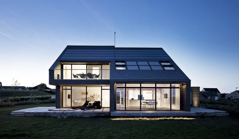 Dom energooszczędny z trwałymi, energooszczędnymi oknami - zdjęcie z materiałych prasowych firmy VELUX