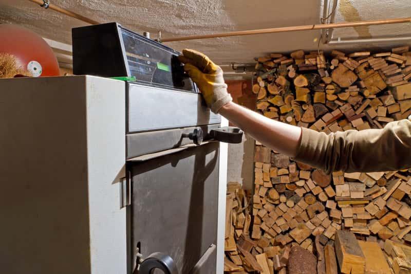 Ustawianie temperatury na piecu