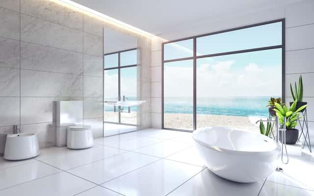 Płytki podłogowe do łazienki - rodzaje, opinie, ceny, porady