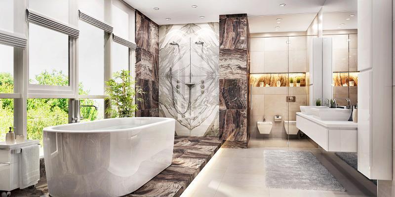 Pomysł na łazienkę - zobacz sprawdzone projekty łazienek