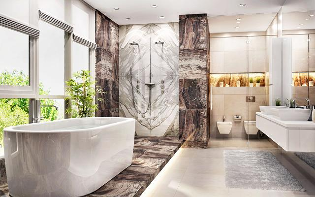 Pomysł na łazienkę - idealny projekt łazienki