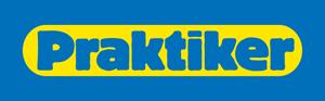 Logo sieci marketów budowlanych Praktiker