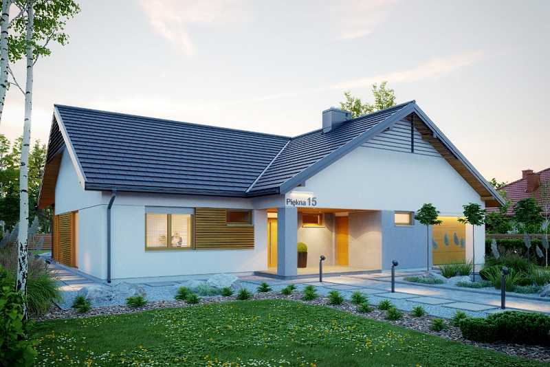 Projekt domu parterowego