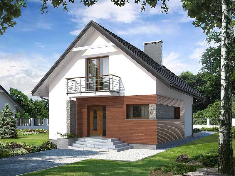 Projekt domu Lilia BSA1712