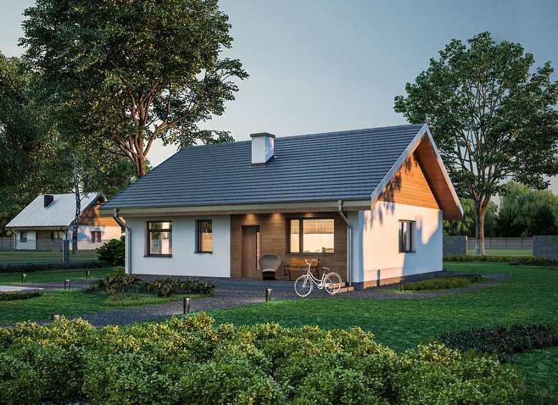 Projekt domu Murator C333j Miarodajny - wariant X WAJ3747