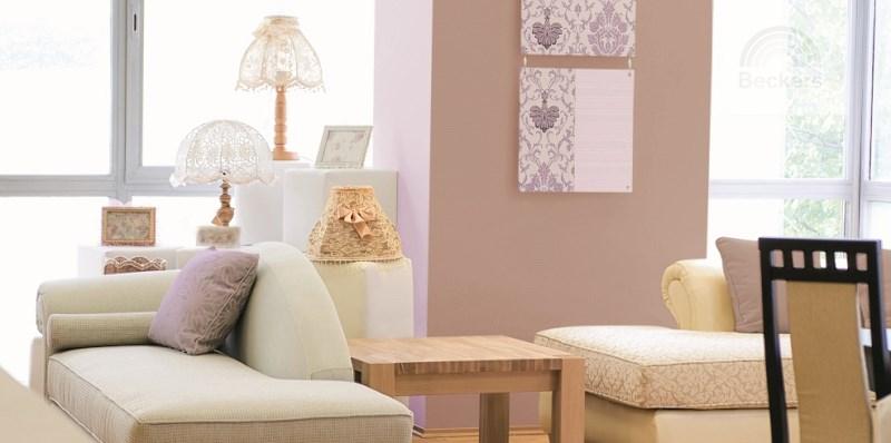 Remont - po malowaniu pomieszczenia farbami Beckers Design colour