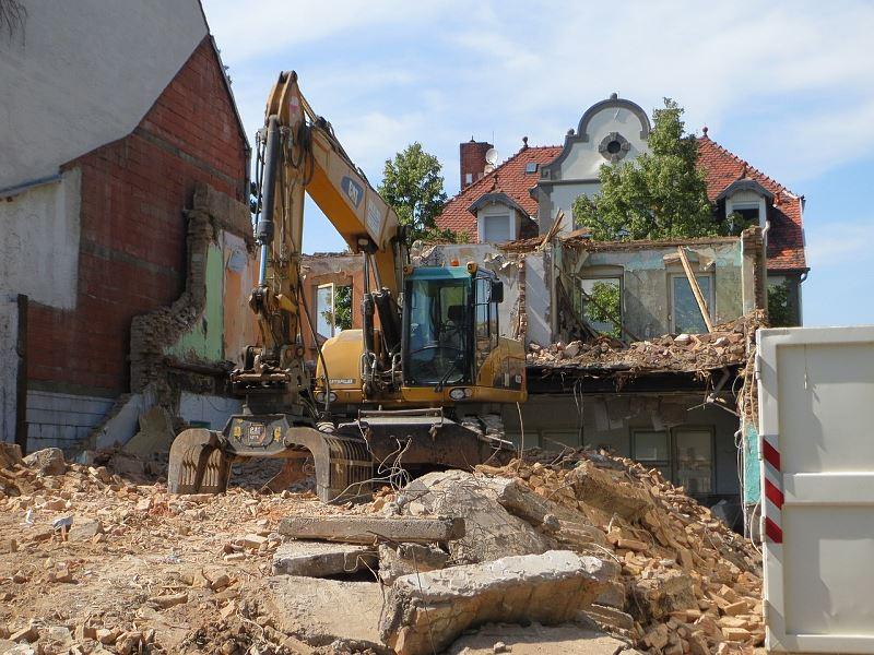 Rozbiórka domów