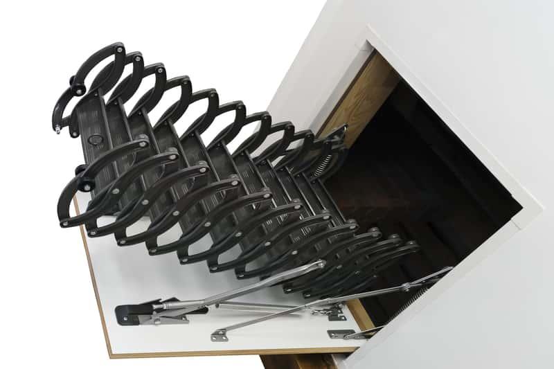Schody nożycowe strychowe - rodzaje, ceny, opinie, rozmiary, producenci