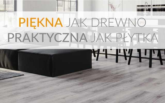 Nowe podłogi - piękne jak drewno, praktyczne jak płytki