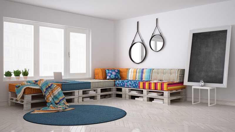 Sofa z palet euro