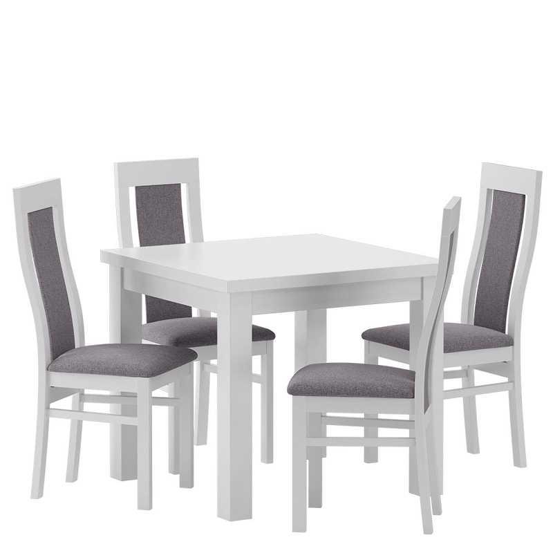 Stół z krzesłami dla czterech osób