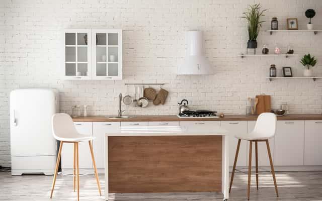 Tapeta biała cegła - przykłady wyjątkowych aranżacji pomieszczeń