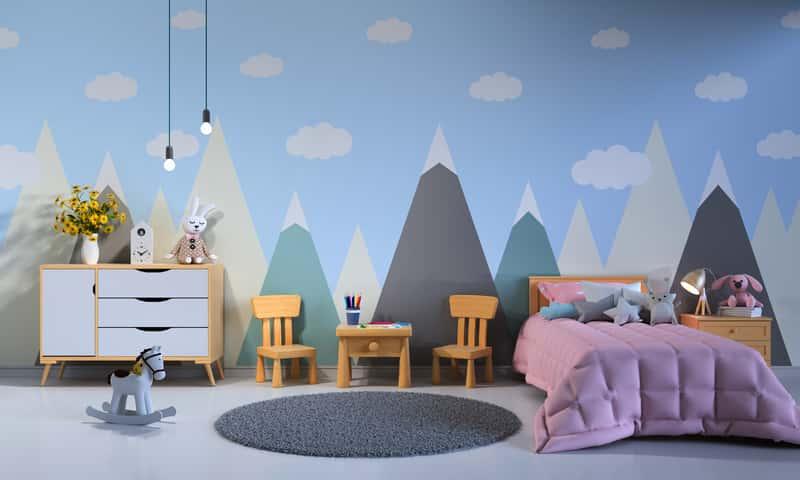 Tapety dla dzieci na ścianę - popularne wzory, producenci, ceny, opinie