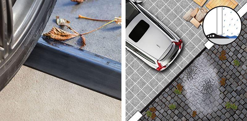 Uszczelki garażowe i progi garażowe