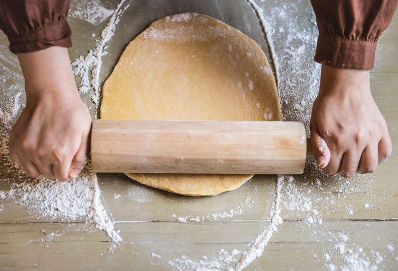 Wałkowanie ciasta