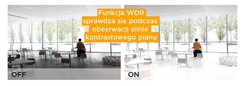 Funkcja WDR monitoringu IP