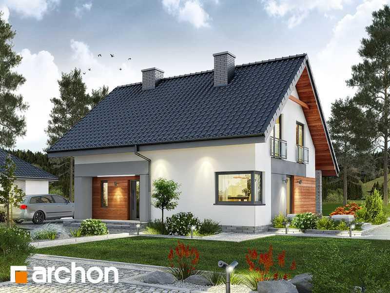 Projekt domu w malinówkach