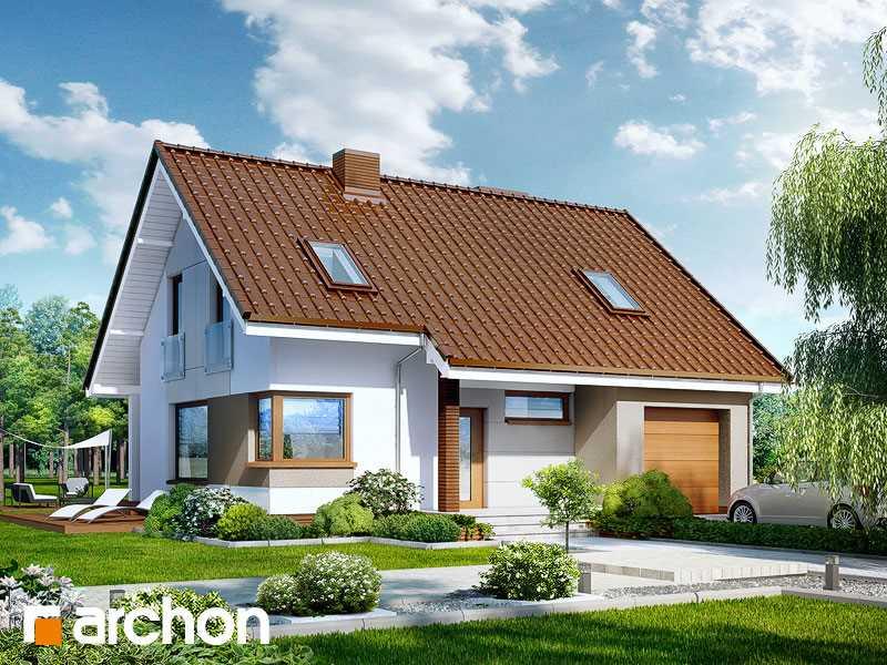 Projekt domu w żurawkach