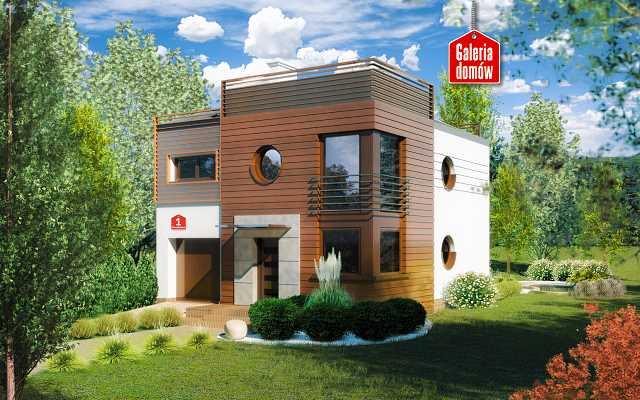 Projekty domów z pełnym piętrem. Nowoczesne realizacje klasycznego stylu