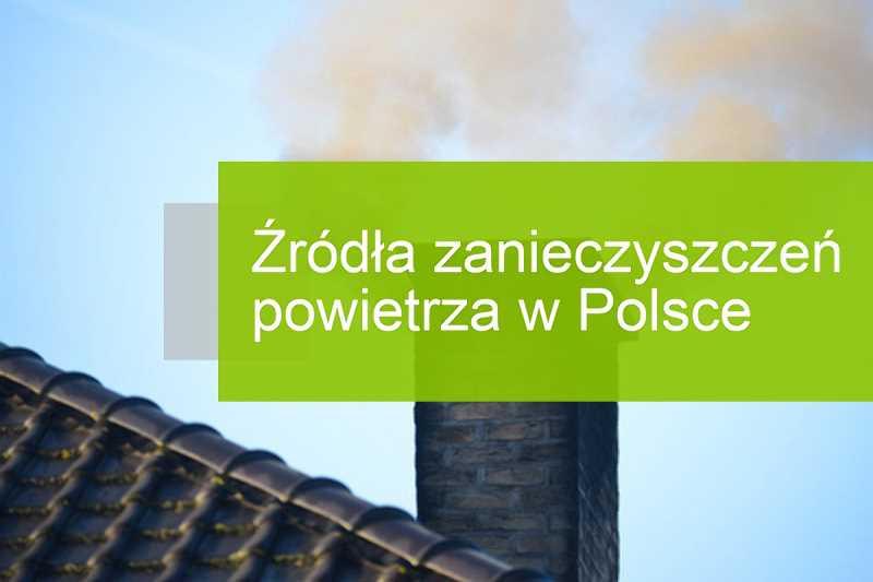Źródła zanieczyszczeń powietrza w Polsce
