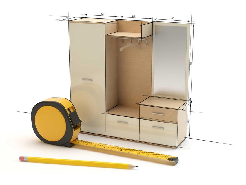 Wymiary szafy przesuwnej w większosci sklepów są już zaplanowane z góry. Możesz jednakże zamówić szafę przesuwną na wymiar.