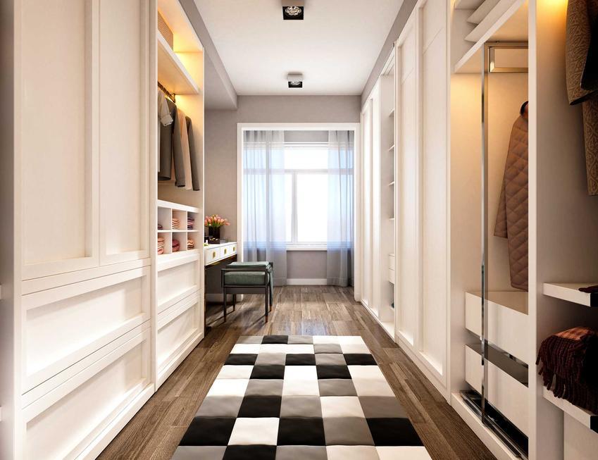 Szafy i inne meble w korytarzu, a także wieszaki, akcesoria i inne elementy wyposażenia przedpokoju krok po kroku