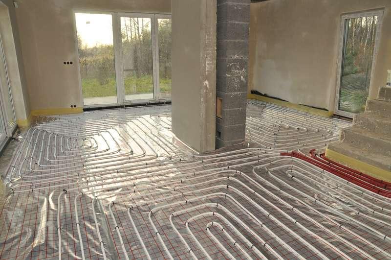 Ogrzewanie podłogowe w domu, a także jak wykonać ogrzewanie podłogowe, zastosowanie, instalacja, samodzielne wykonanie