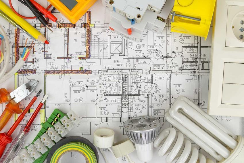Схема подключения является основой для установки. Держите его в курсе, где находятся электрические кабели.