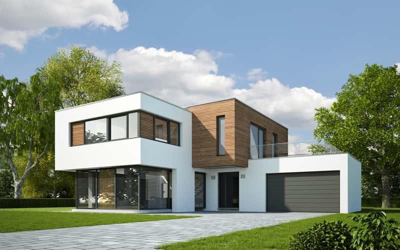 Domy kanadyjskie - najciekwasze projekty, styl, elegancja, inspiracja, nowoczesność, energooszczędność, sprawdzone propozycje - porady