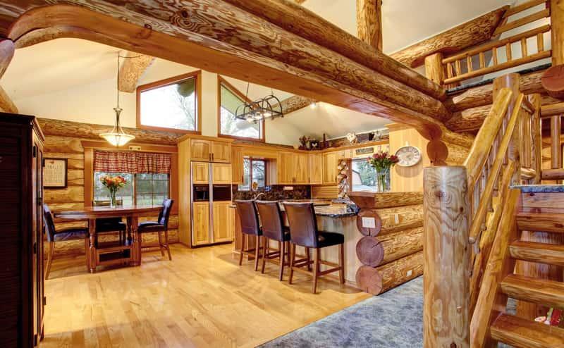 Dom z bali drewnianych, a także ceny domów z bali, wykonanie, wady i zalety oraz najbardziej interesujące projekty budowlane