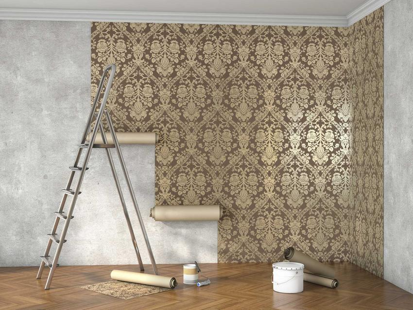 Koszty malowania mieszkania i koszty tapetowania mogą być mniej więcej zbliżone. Różny może być koszt robocizny.