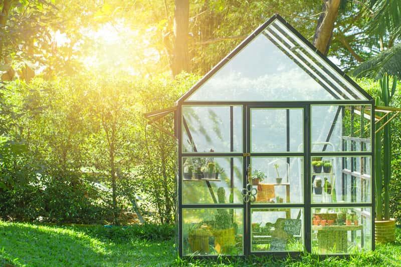 Szklarnia przydomowa w ogrodzie, a także samodzielna budowa szklarni przydomowej na warzywa krok po kroku