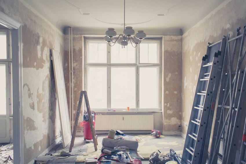 Rozpoczęty remont mieszkania, a także najważniejsze informacje o remontach, podpowiedzi, koszty i ceny materiałów