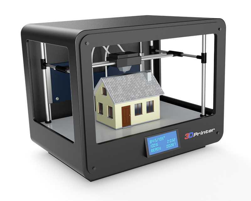 Model domu wydrukowany w drukarce 3D, a także domy z drukarki 3D, czyli możliwość drukowania różnych budynków