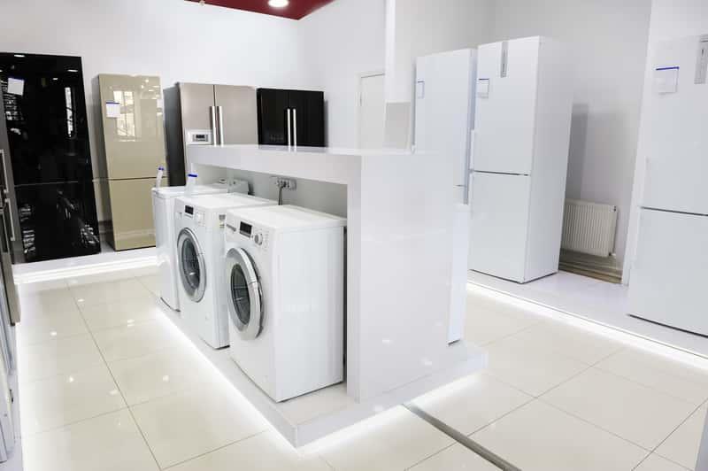 Pralki o standardowych wymiarach w sklepie AGD, a także standardowe wymiary pralki i lodówki krok po kroku