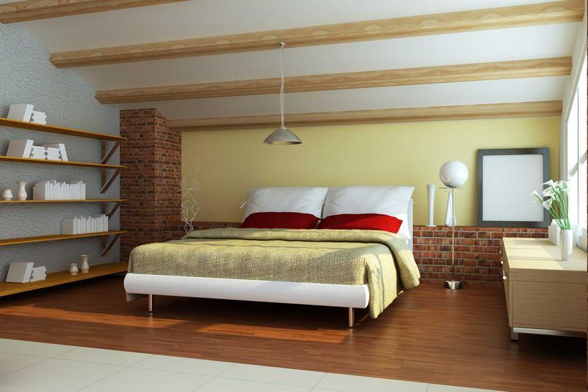Drewniane belki stropowe to świetne rozwiązanie nie tylko konstrukcyjnie, lecz także estetyczne. Są niestety dość drogie.