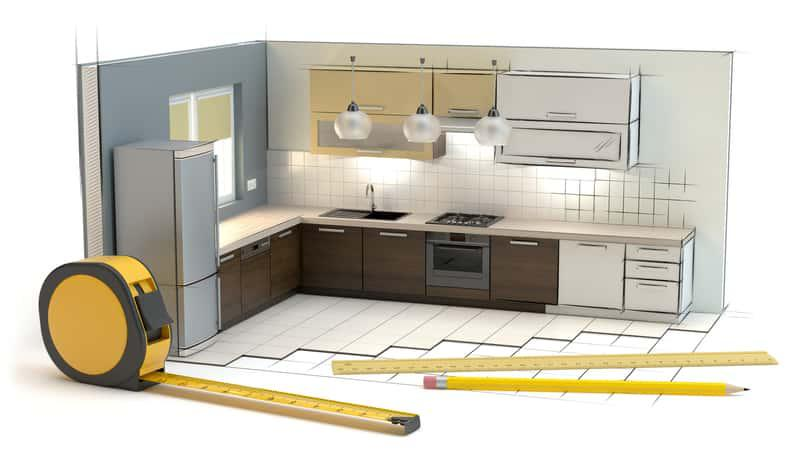 Jakie są standardowe wymiary szafek kuchennych? W większości sklepów wszystkie meble kuchenne mają takie same wymiary.