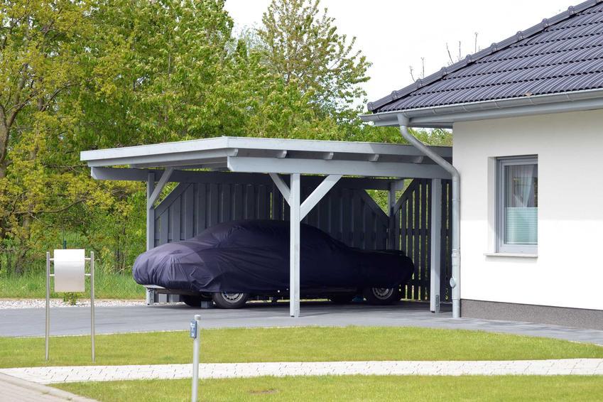 Wiata garażowa to świetny sposób na zadaszenie samochodu, ale jednocześnie jest to konstrukcja, która nie wymaga pozwolenia na budowę ani innych tego rodzaju formalności