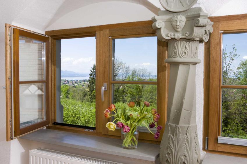 Koszt okien drewnianych jest znacznie wyższy, niż okien plastikowych. Okna drewniane są uważane za bardziej trwałe i wytrzymałe.
