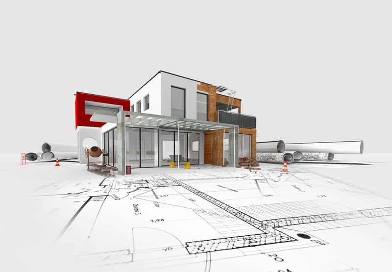Projekt domu w 3D, a także błędy przy projektowaniu, rozmieszczenie pomieszczeń, funkcjonalność i jak najlepiej zaprojektować dom