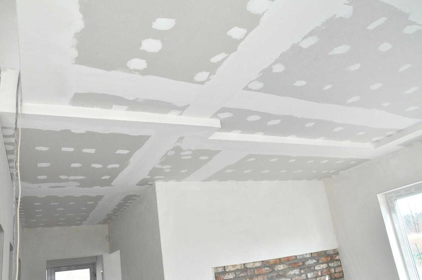 To, ile schnie strop żelbetowy jest zależne od wielu czynników - wilgotności powietrza, producenta i tym podobne.