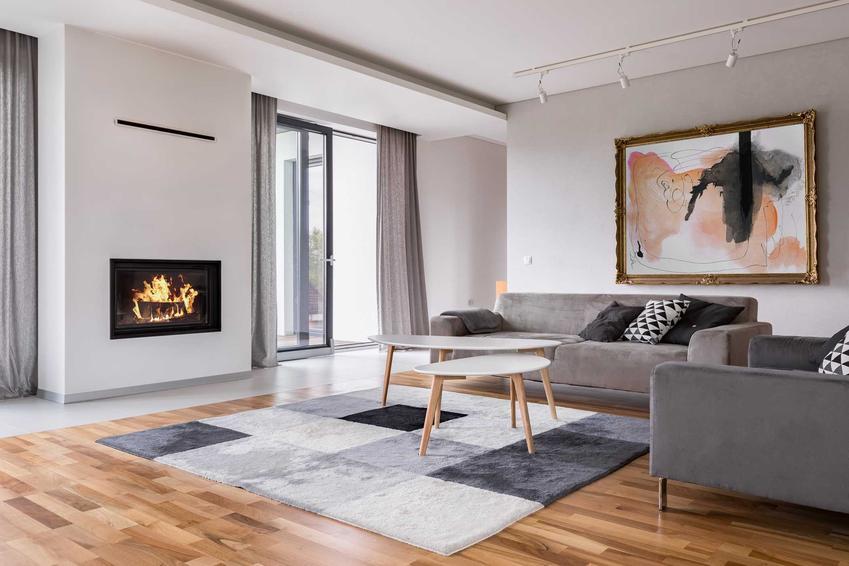 Kominek z płaszczem wodnym pozwala na ogrzewanie mieszkania ogniem kominkowym. Koszty ogrzewania nie są wysokie, wręcz przeciwnie, ale montaż dość koszrowyny.