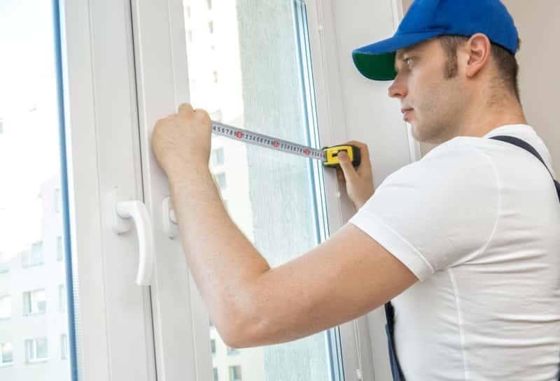 Mierzenie okna PCV, a także standardowe wymiary okien PCV i drewnianych do domu jednorodzinnego i mieszkania
