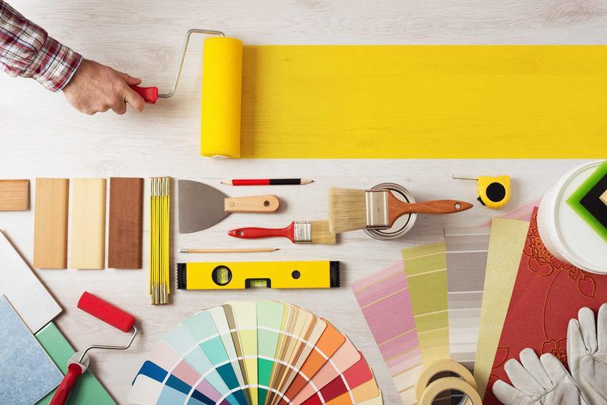 Farby do malowania tapety są trwałe i długo nie tracą koloru. Nadają sie farby lateksowe do tapet oraz farby akrylowe do tapety.