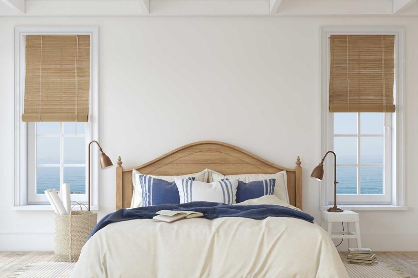 Sypialnia w stylu skandynawskim jest bardzo dobrym rozwiązaniem. Jasna, przytulna, ale minimalistyczna - to idealne miejsce na spanie