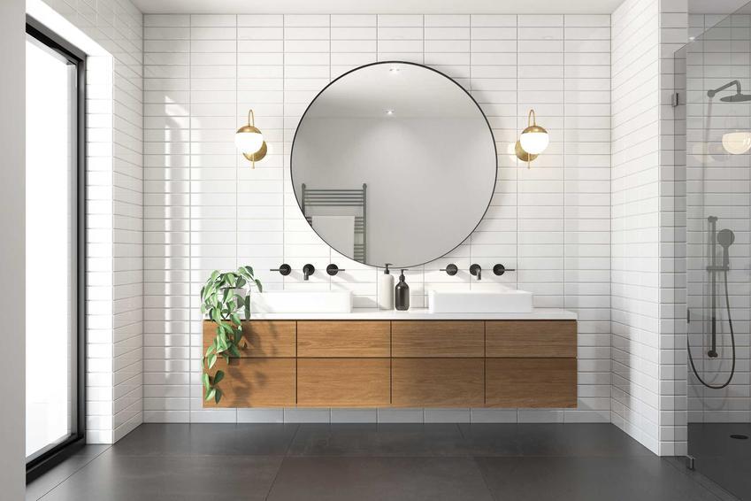 Łazienka w stylu skandynawskim świetnie sprawdza się w wielu mieszkaniach. Jest jasna, prosta i czysta